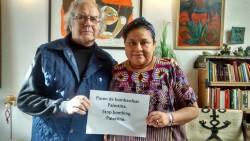 Dos Premios Nobel de la Paz latinoamericanos piden un embargo militar a Israel